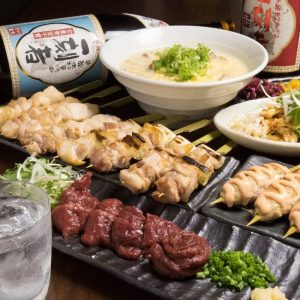 駒込の居酒屋「とりいちず」で馬刺しと焼鳥を満喫する宴会