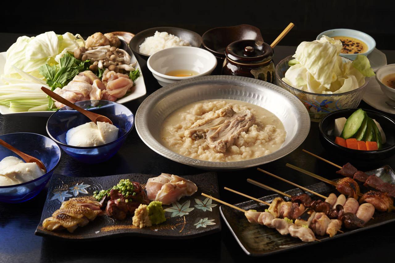 とりいちず 駒込東口駅前店の鶏料理が満喫できるコース